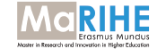 Erasmus + Joint Master in Research and Innovation in Higher Education - MARIHE