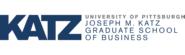 University of Pittsburgh - Katz Graduate School of Business